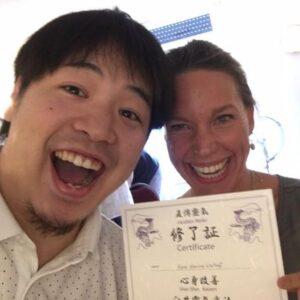 Diploma Japanse Jikiden Reiki master