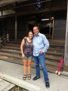 Met Frank Arjava Petter in Japan